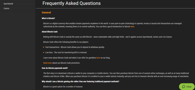 CloudBet Customer Support FAQ's