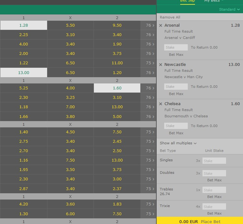 HT-FT Betting System
