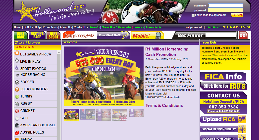 HollywoodBets Online Bookmaker Review
