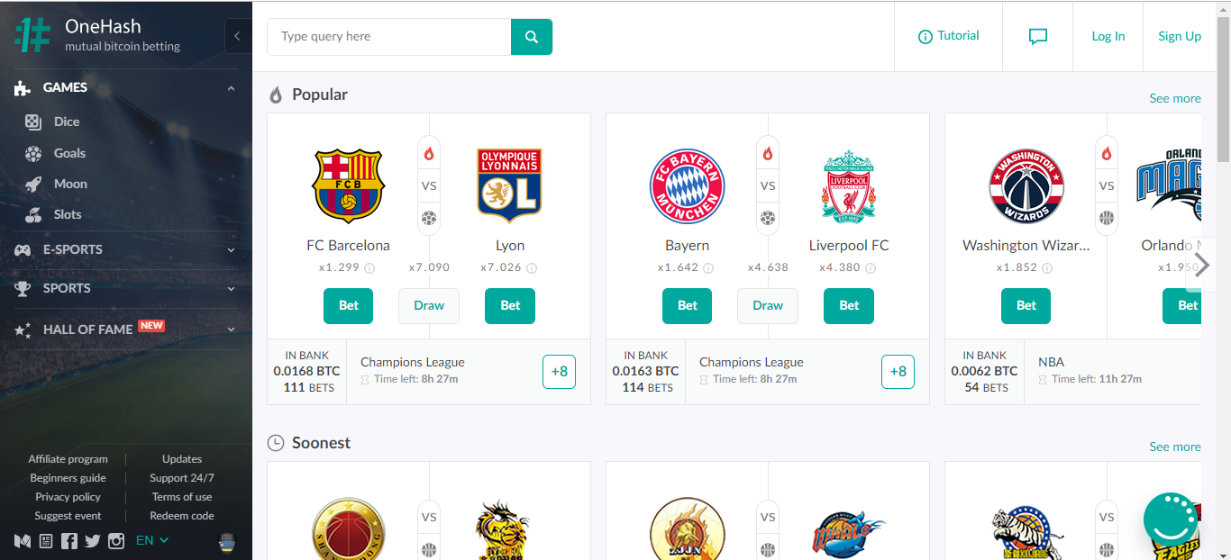 One Hash Sportsbook Review